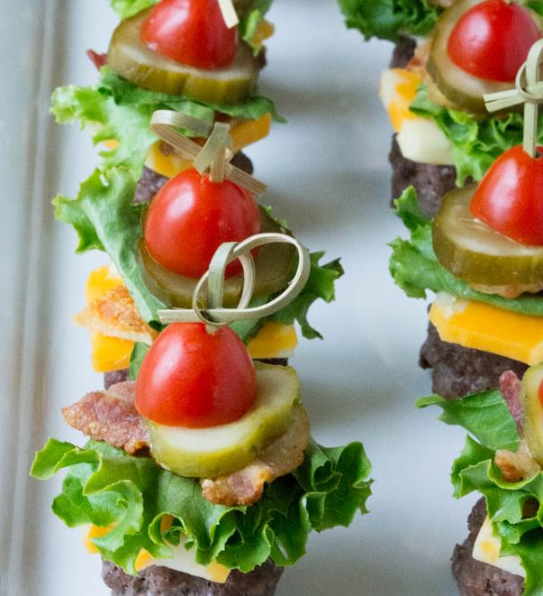 Cheeseburger Sticks!